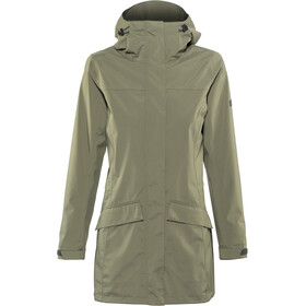 Bergans Oslo 2L Coat Women, green mud